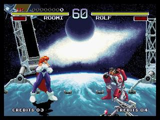 Galaxy Fight: Universal Warriors screenshot