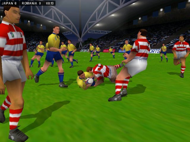 Rugby 2001 screenshot