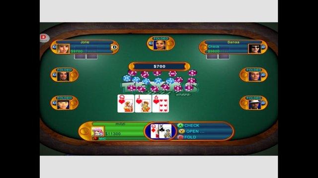 Texas Hold'em screenshot