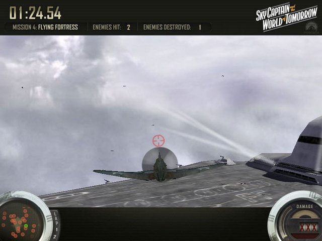 Sky Captain: Flying Legion Air Combat Challenge screenshot