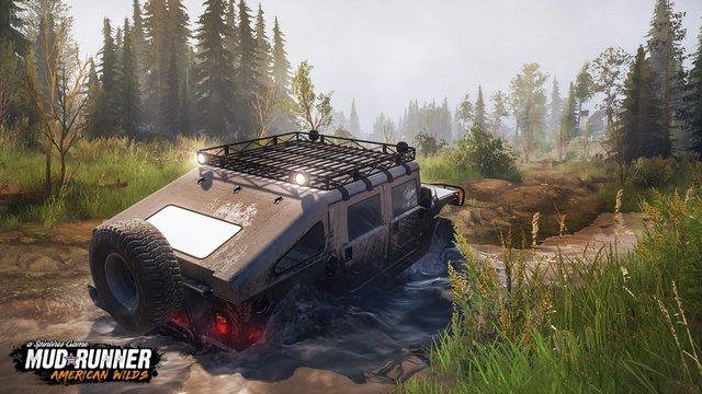 Spintires: Mudrunner - American Wilds screenshot