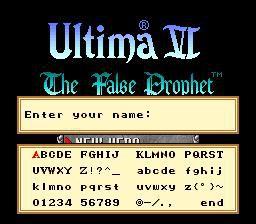 Ultima VI: The False Prophet screenshot
