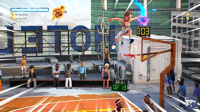 NBA Playgrounds screenshot