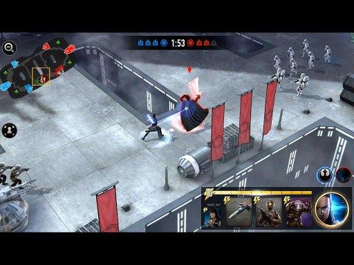 Star Wars: Force Arena screenshot