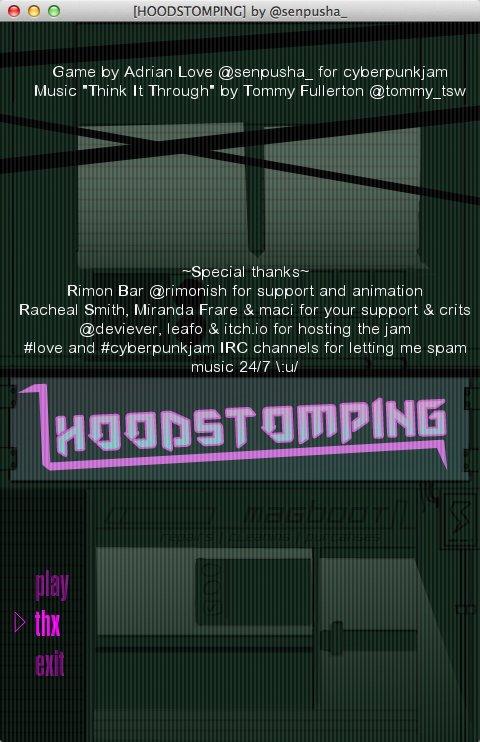HOODSTOMPING screenshot