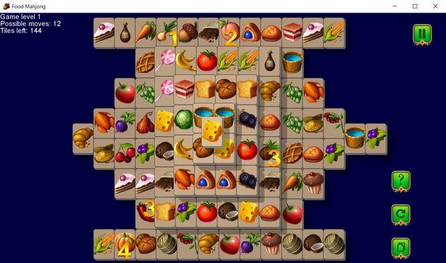 Food Mahjong screenshot