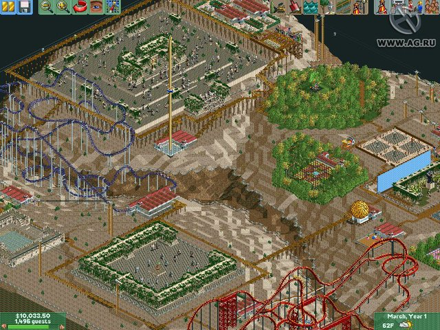 RollerCoaster Tycoon 2: Time Twister screenshot