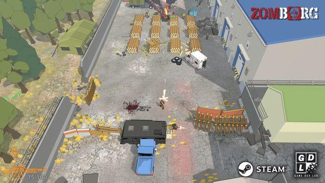 Zomborg screenshot
