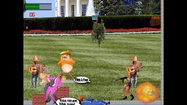 Someone Cloned The President screenshot