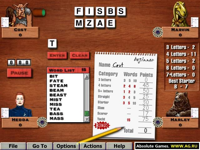 Hoyle Games 2003 screenshot
