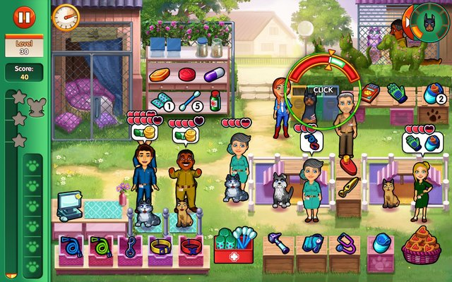 Dr. Cares - Amy's Pet Clinic screenshot