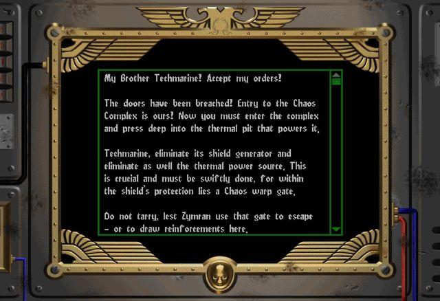 Warhammer 40,000: Chaos Gate screenshot