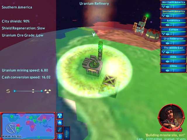 M.A.D.: Global Thermonuclear Warfare screenshot