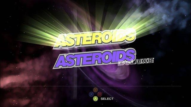 Asteroids & Deluxe screenshot