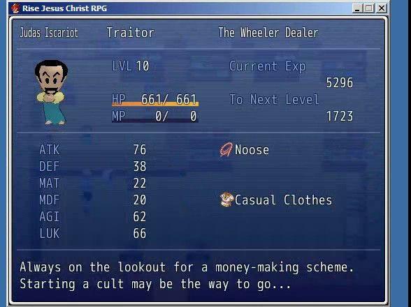 Jesus Christ RPG Trilogy screenshot