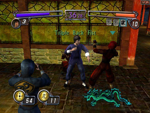 Bruce Lee: Quest of the Dragon screenshot