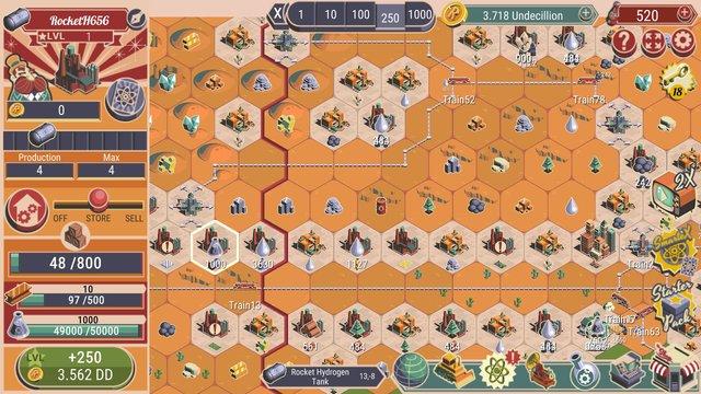 Rocket Valley Tycoon screenshot