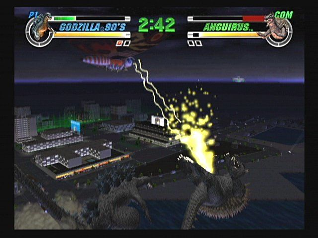 Godzilla: Destroy All Monsters Melee screenshot