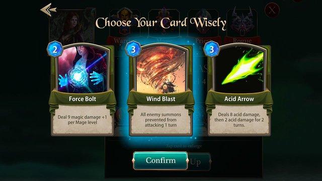 Spellsword Cards: Demontide screenshot