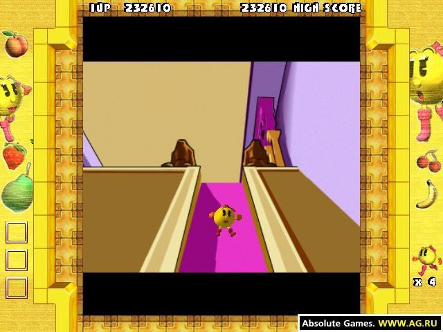 Ms. Pac-Man: Quest for the Golden Maze screenshot