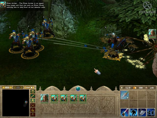 The Lord of the Rings: War of the Ring screenshot