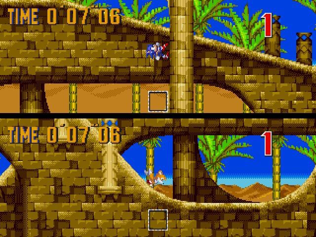 Sonic 3 and Knuckles screenshot