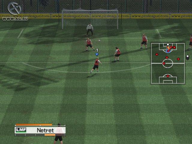 Pro Evolution Soccer 4 screenshot