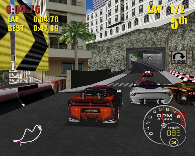 Supercar Street Challenge screenshot