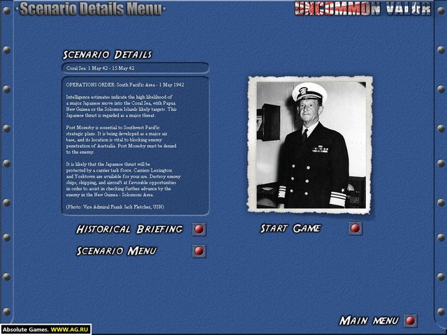Uncommon Valor: Campaign for the South Pacific screenshot
