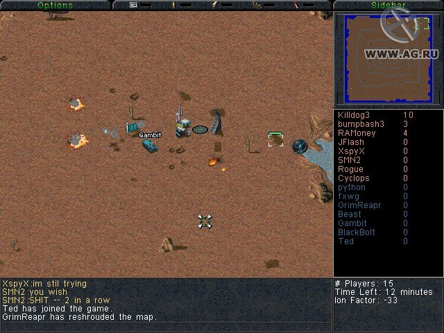 Command & Conquer: Sole Survivor Online screenshot