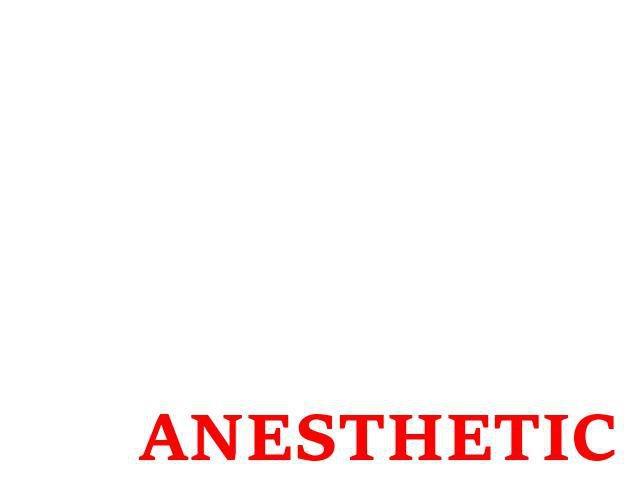 Anesthetic screenshot
