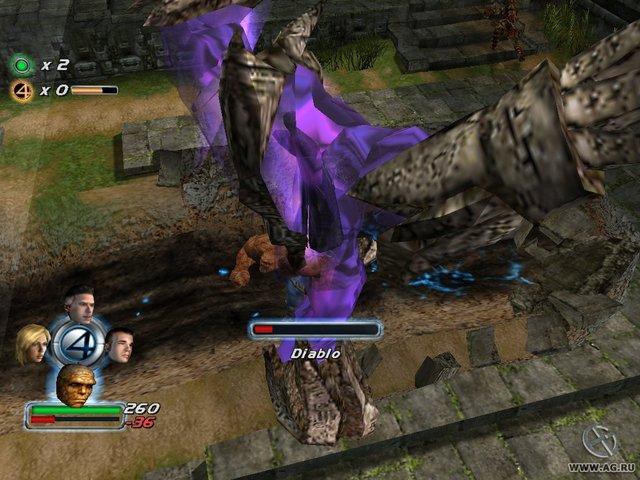 Fantastic Four screenshot