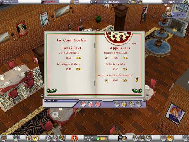 Restaurant Empire screenshot