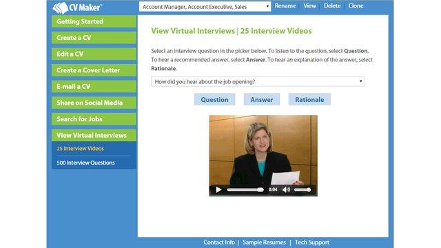 CV Maker for Windows screenshot