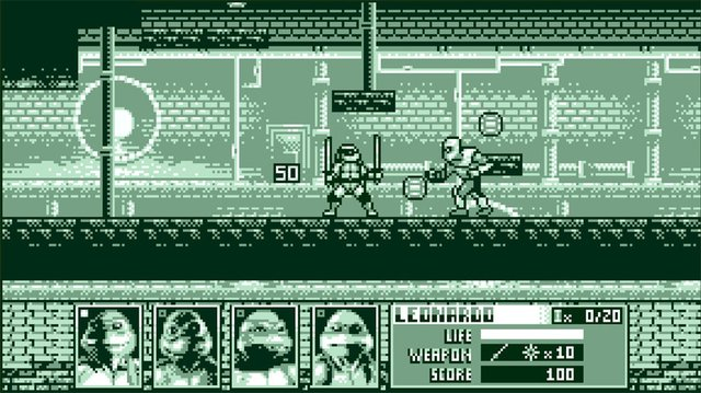 Teenage mutant ninja turtles Cowabunga screenshot