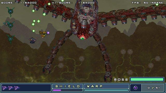 ZANGEKI WARP screenshot