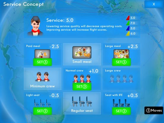 Airline Director 2 - Tycoon Game screenshot