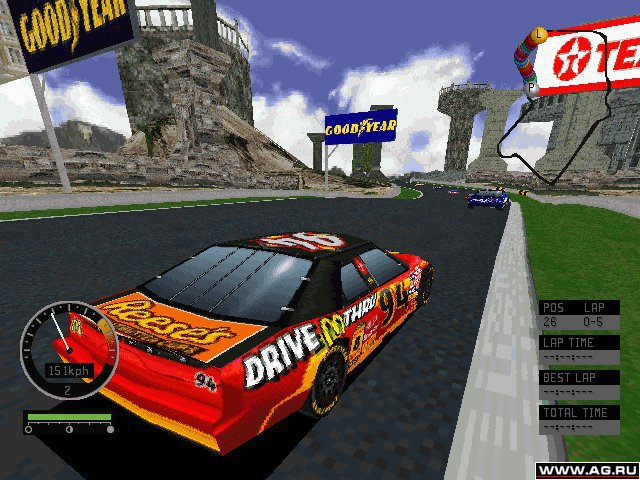 NASCAR Road Racing screenshot