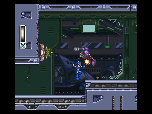 Mega Man X3 (1995) screenshot