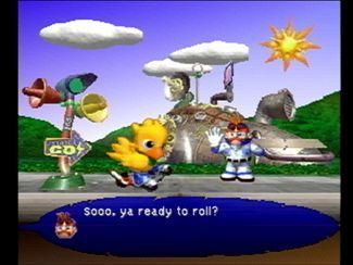 Chocobo Racing screenshot