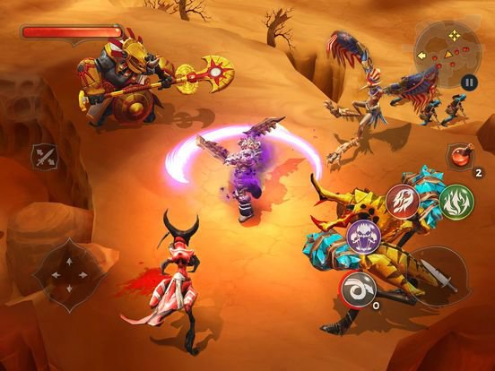 Dungeon Hunter 5 - Multiplayer RPG on iOS screenshot