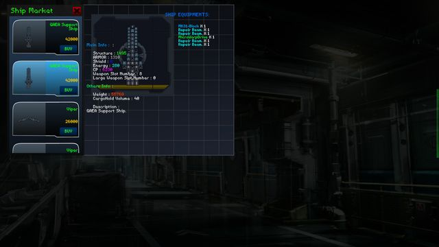StarShip Constructor screenshot