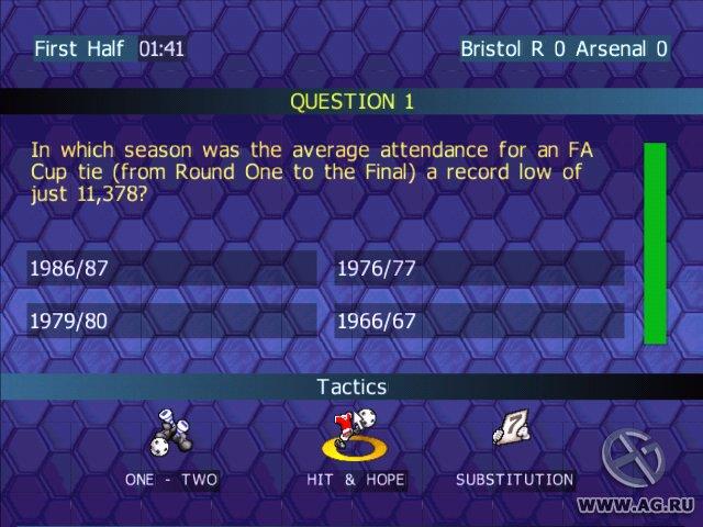 Championship Manager Quiz screenshot