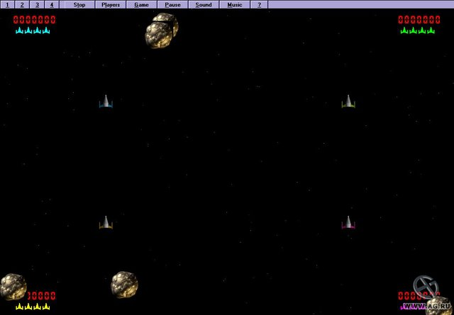 Comet Busters! screenshot