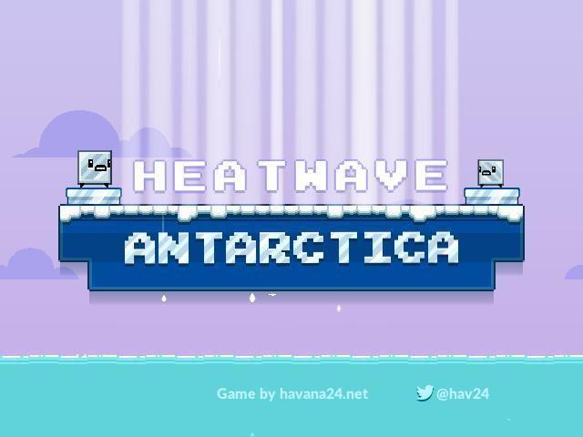 Heatwave Antarctica screenshot