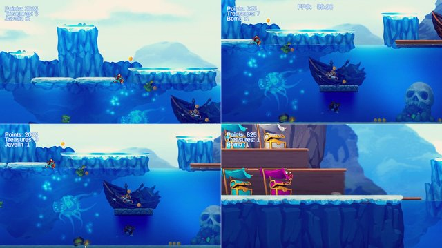 Aqua Lungers screenshot