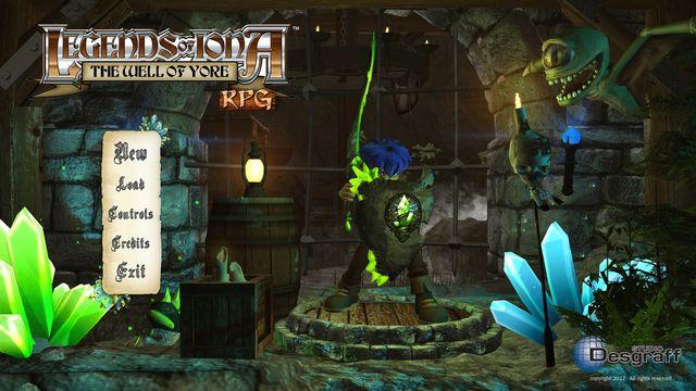 Legends Of Iona RPG screenshot