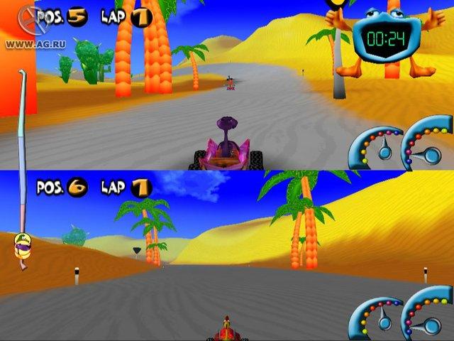 Кряки и Плюхи вступают в гонку screenshot