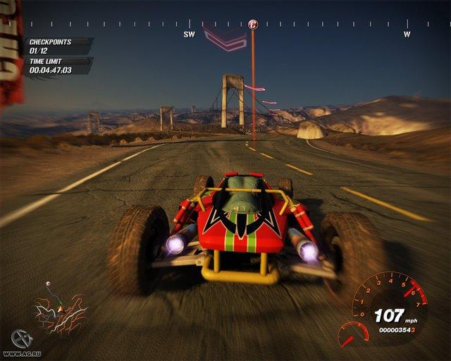 FUEL (2009) screenshot