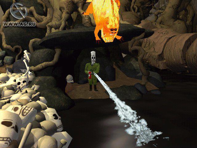 Grim Fandango screenshot